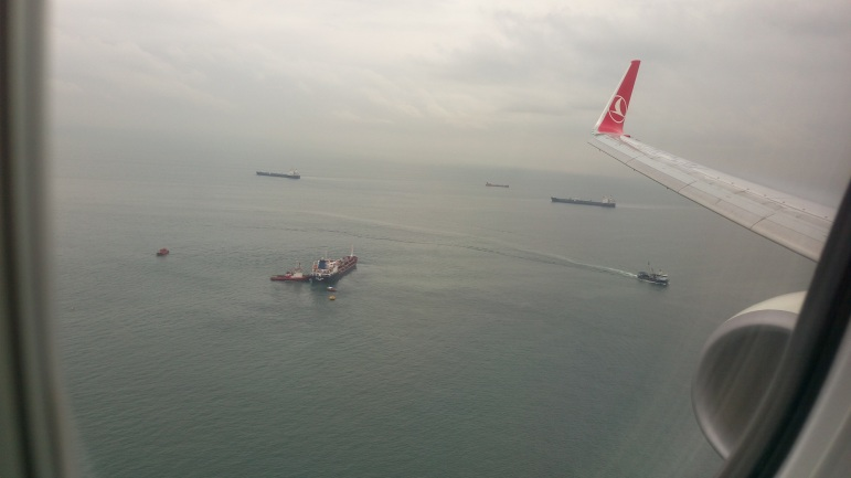 İstanbula enərkən